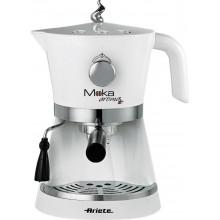 Рожковая кофеварка Ariete 1337/40 Moka Aroma, белый купить в интернет-магазине с доставкой