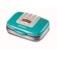 Прибор для приготовления вафель Ariete 1973/01 PARTY TIME, голубой купить в интернет-магазине с доставкой