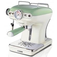 Рожковая кофеварка Ariete Vintage 1389 Зелёная купить в интернет-магазине с доставкой