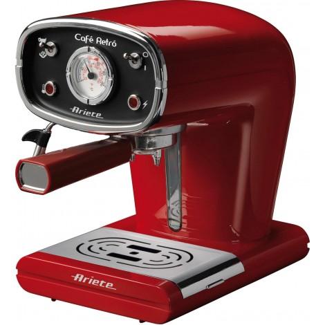 Рожковая кофеварка Ariete 1388 Cafe Retro Red